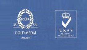 UKAS Gold Medal Award